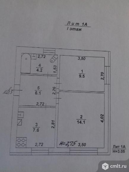 2-комнатная квартира 41,6 кв.м. Фото 2.