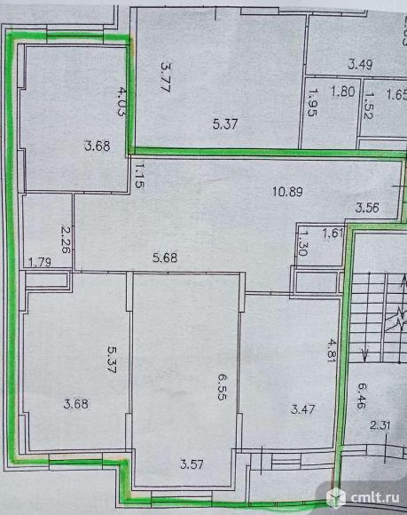 3-комнатная квартира 109,3 кв.м. Фото 18.