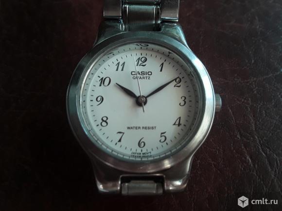 Женские часы с браслетом Casio Quartz Water resist 705 ltp 1131. Рабочие.. Фото 1.