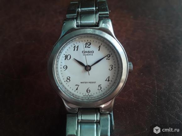 Женские часы с браслетом Casio Quartz Water resist 705 ltp 1131. Рабочие.. Фото 12.
