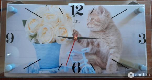 Новые часы на стену Рубин. Фото 1.