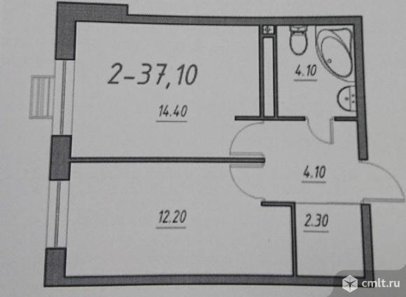 Продается 2-комн. квартира 36.9 кв.м.. Фото 6.