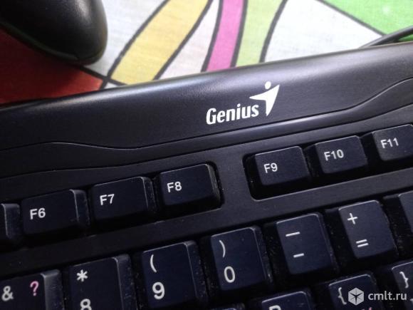 Клавиатура и 2 сетевые карты 100 Мбит. Фото 4.