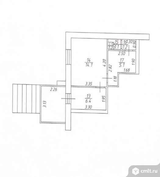 Продается 1-комн. квартира 28 кв.м.. Фото 5.