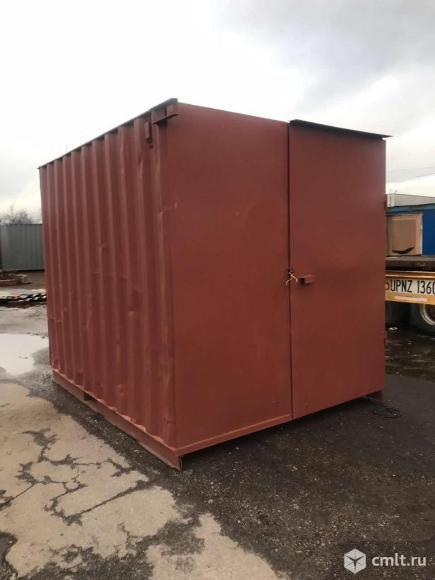 Купить контейнер 10 футов бу в СПб. Фото 1.