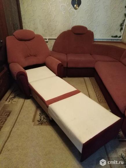 Диван и кресло для гостиной продам. Фото 6.