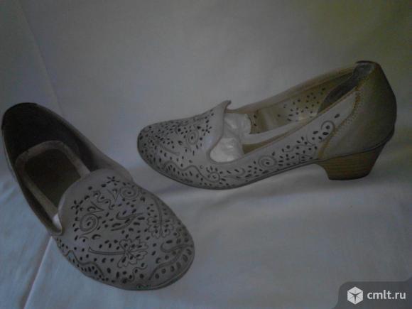 Туфли натуральная кожа р.36 «Рикер». Фото 1.