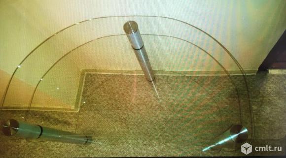 Столик стекло для TV (журнальный). Фото 4.