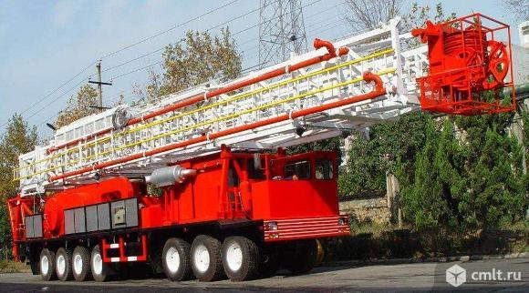 Мобильная буровая установка (МБУ) ZJ40. Фото 1.