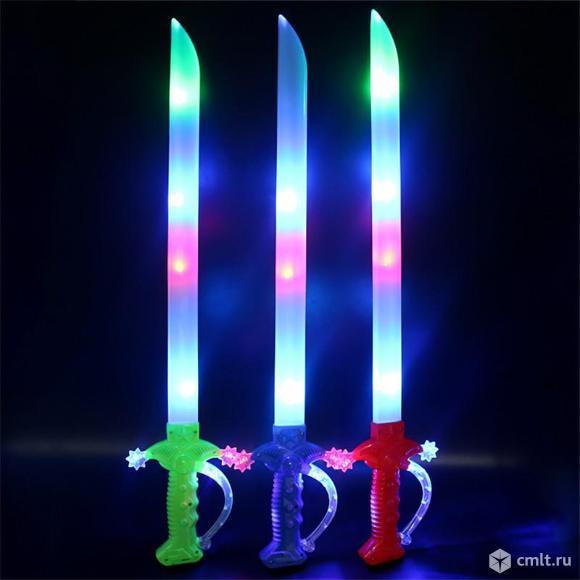 Светящийся музыкальный детский меч. Фото 1.
