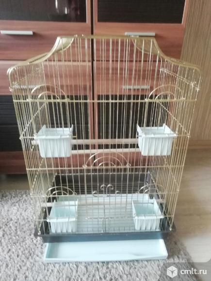 Клетка для попугая. Фото 4.