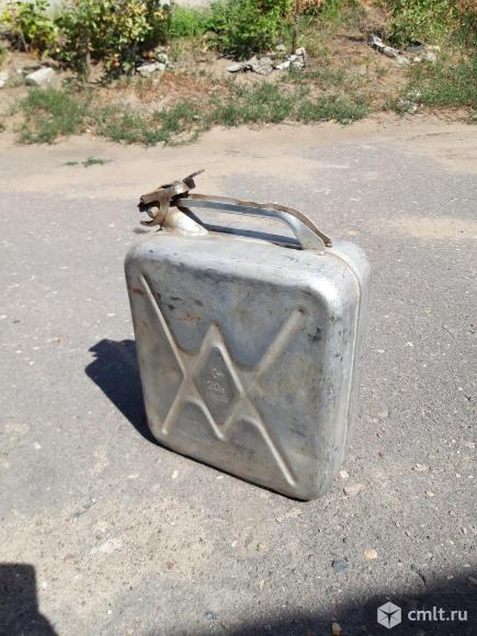 Канистра алюминиевая - 20 л.. Фото 1.