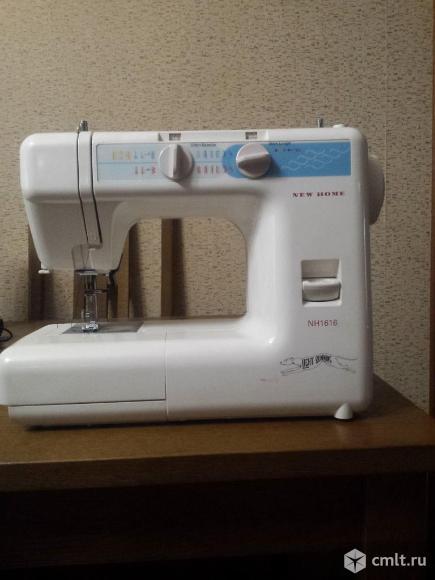Продам швейную машинку NEW HOME NH 1616. Фото 1.