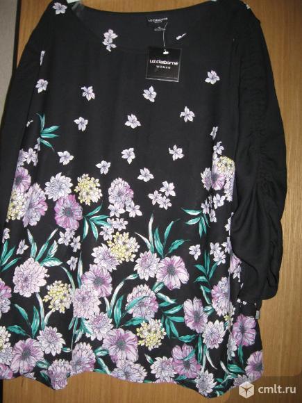 Блузка  54-56 размера. Фото 1.