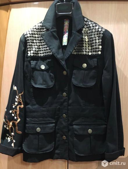 Джинсовая куртка (жакет). Фото 1.