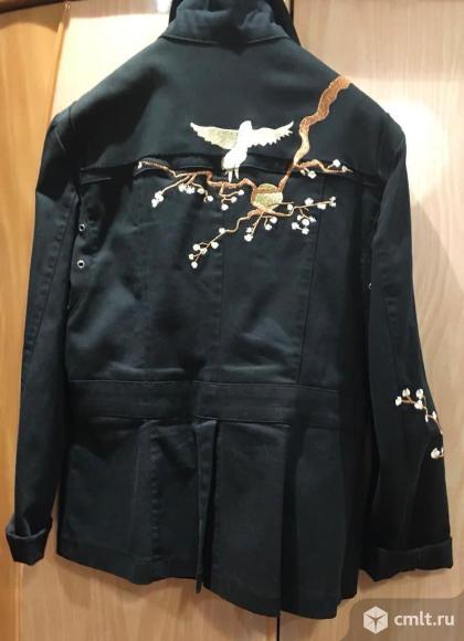 Джинсовая куртка (жакет). Фото 3.