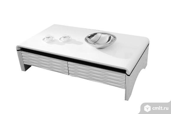стол журнальный большой с ящиками 3d-modo paoli для современной гостиной