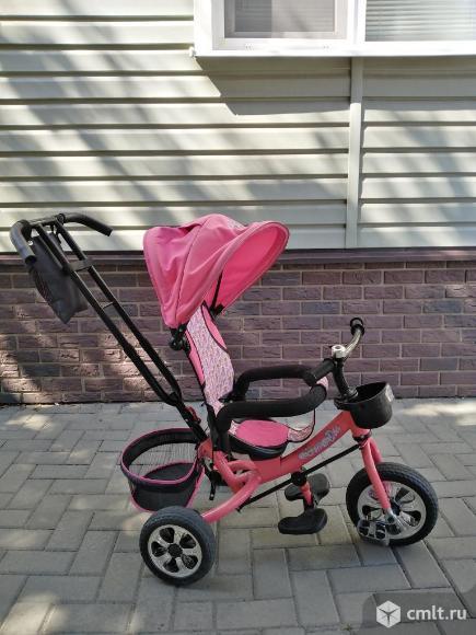Детский трехколесный велосипед. Фото 1.