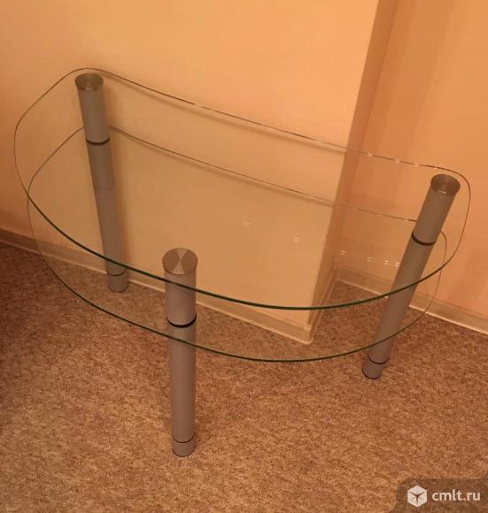 Столик стекло для TV (журнальный). Фото 1.