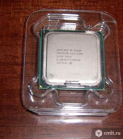 Intel® Pentium® Processor E2200 (1M Cache, 2.20 GHz, 800 MHz FSB)