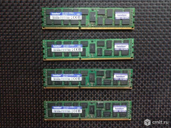 Оперативная память lanshuo 4шт. Фото 1.