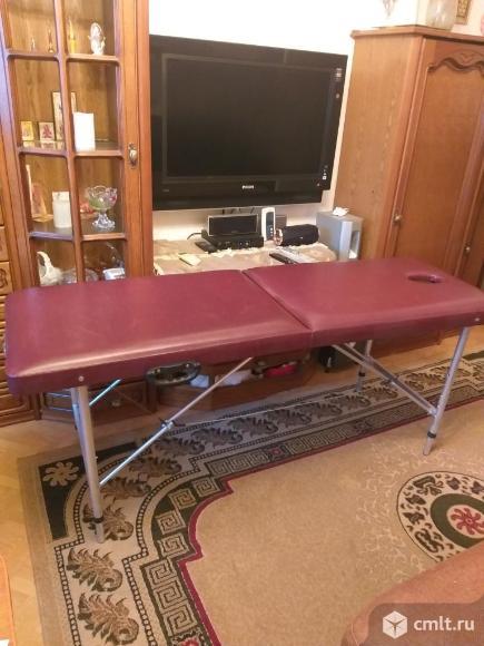 Массажный стол складной. Фото 1.