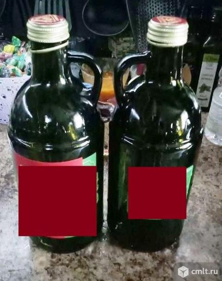 Бутылки1,5 литра темное стекло. Фото 2.