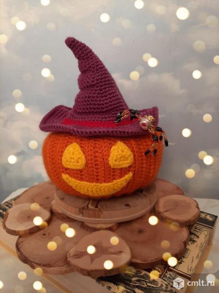 Тыква - фонарь к Хэллоуину. Фото 1.