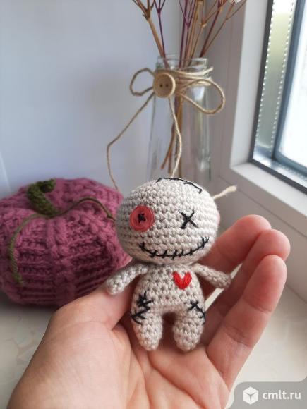 Вуду - мини (вязвная игрушка).. Фото 1.