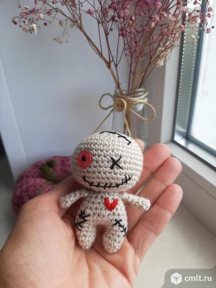 Вуду - мини (вязвная игрушка).. Фото 5.