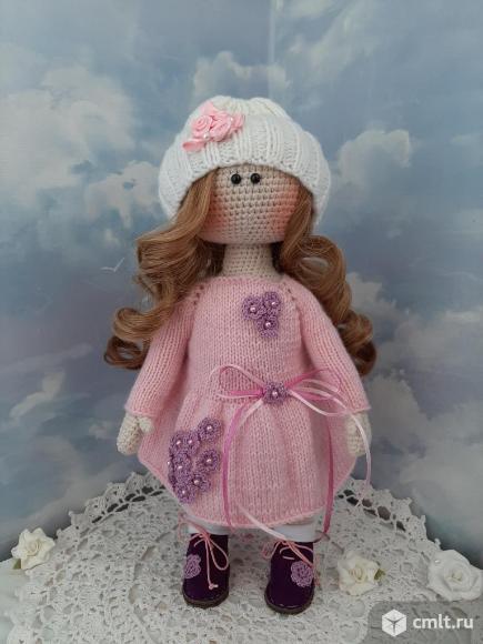 Кукла Нежность ручной работы (вязаная). Фото 1.