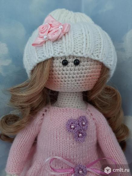 Кукла Нежность ручной работы (вязаная). Фото 7.