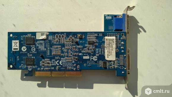 Различные видеокарты AGP Radeon Sapphire Albatron. Фото 7.