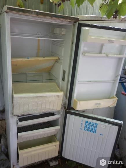 Холодильник 2-кам разные цены по высоте и объему камер. Фото 1.