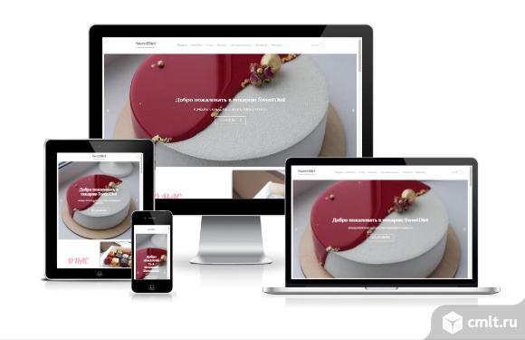 Новый готовый сайт интернет-магазина с доменом. Фото 1.