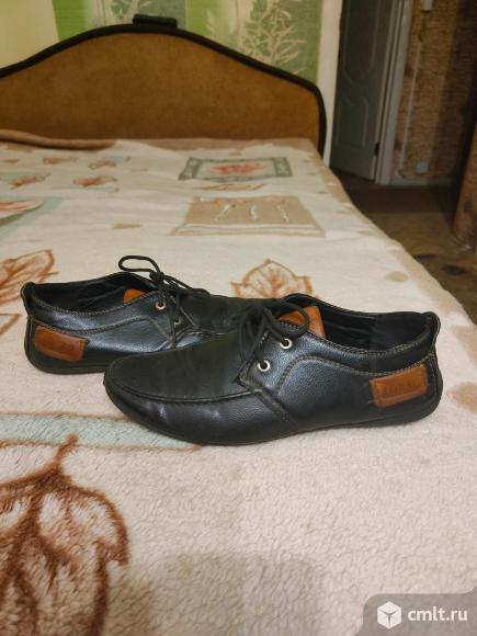 Ботинки осенние детские по стельке 23-24 см. Фото 1.