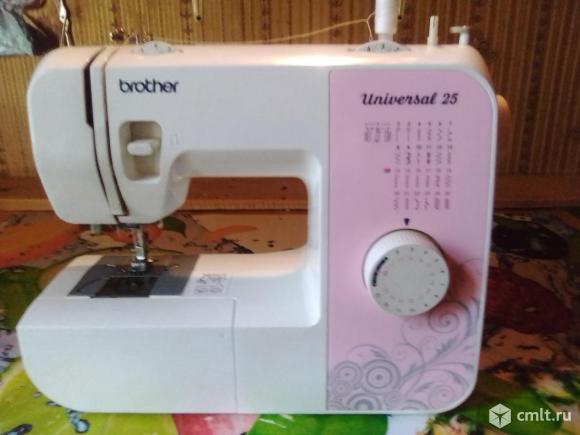 Швейная машина Brother universal 25. Фото 1.