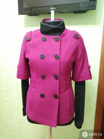 Полу пальто на осень. Фото 1.