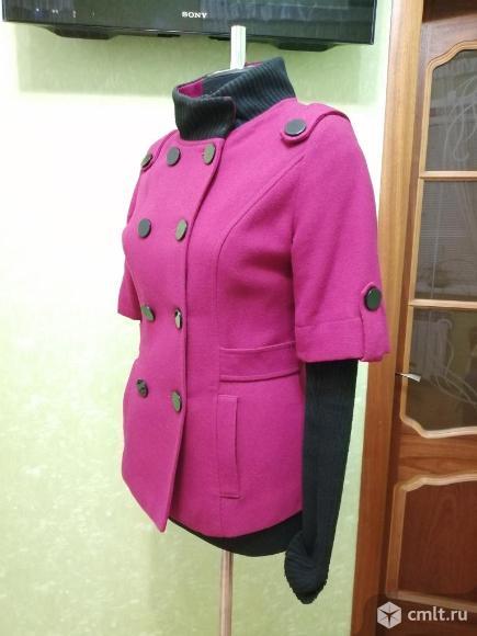 Полу пальто на осень. Фото 4.
