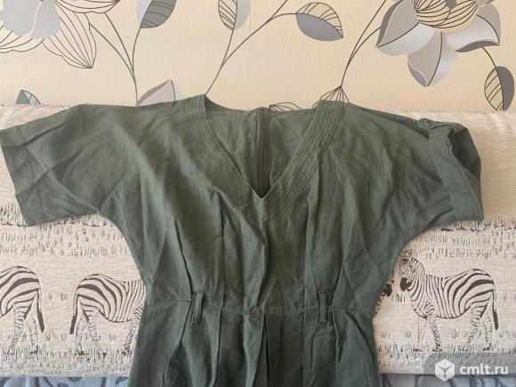 Платье, лен, размер S. Фото 3.