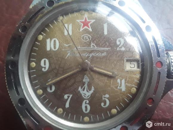 Часы Командирские с браслетом. Механические. Якорь. Фото 16.