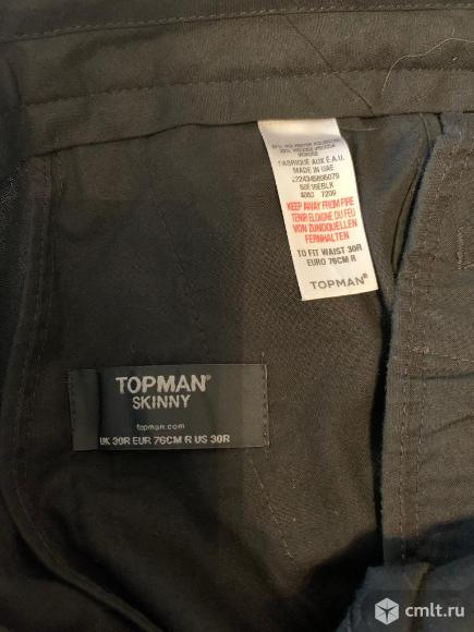 Брюки мужские Topman, размер 30.. Фото 3.