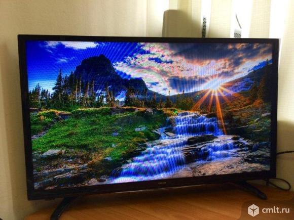 Телевизор LED DEXP H32F7000K DVB-T2. Фото 1.