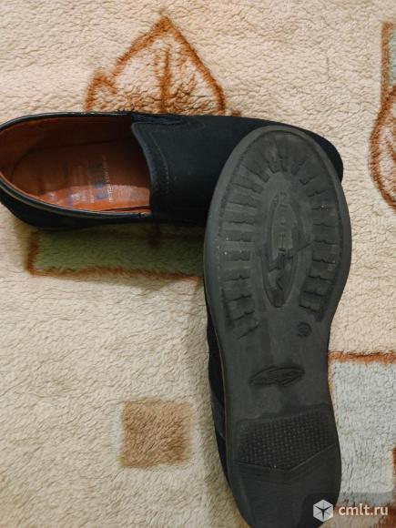 Туфли (нубук по стельке 23,5 см ). Фото 3.