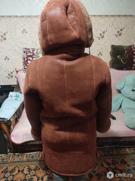 Дублёнка женская 46-48 размер. Фото 3.