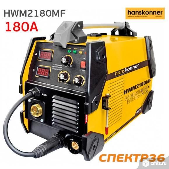 Сварочный полуавтомат инвертор Hanskonner HWM2180MF. Фото 1.