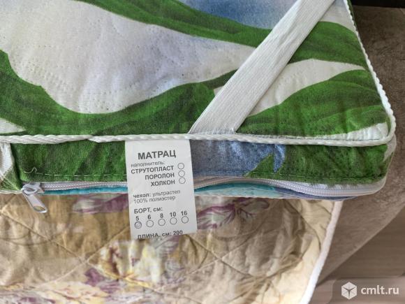 Матрас поролоновый, 80х200х5. Фото 4.