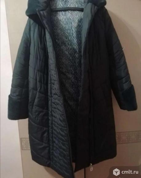 Пальто зимнее. Фото 3.