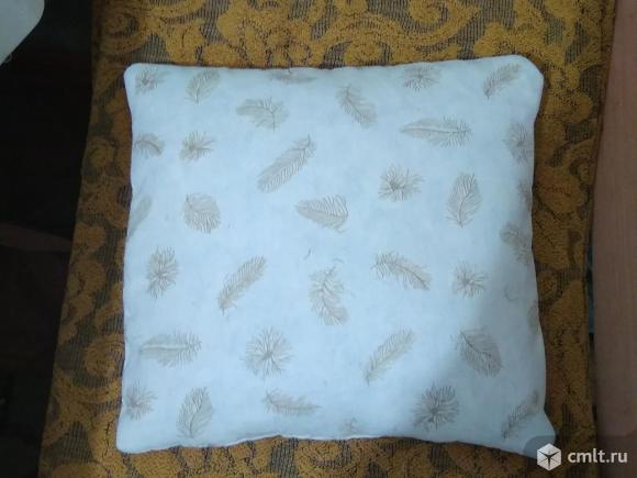Подушка перьевая маленькая. Фото 1.