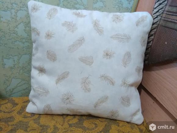 Подушка перьевая маленькая. Фото 2.